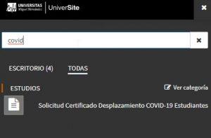 solicitud certificado desplazamiento covid-19